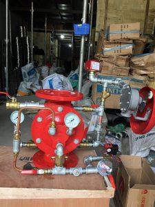 Van xả tràn Trung Quốc-Duluge valve